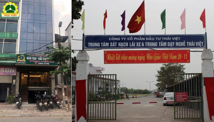 Trung tâm đào tạo và sát hạch lái xe Thái Việt