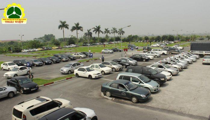 Sân thi Thái Việt rộng 45000m2