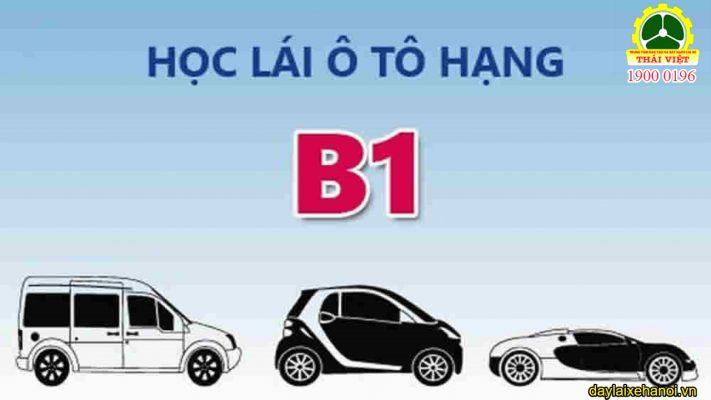 giá học lái xe b1