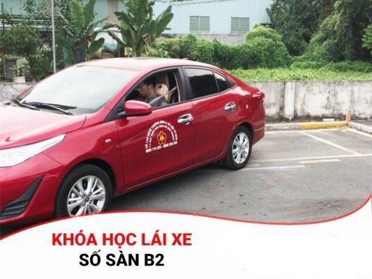 khóa học bằng lái xe b2